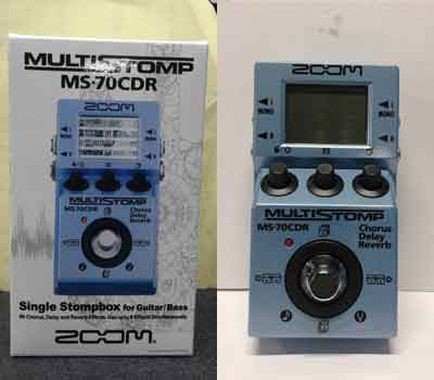 EFECK-ZOOM-MULTISTOMP-MS70CDR